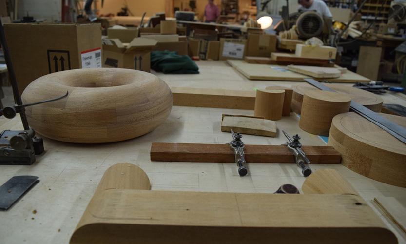 wood shop slide